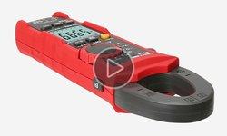 Відеоогляд професійних струмовимірювальних кліщів UNI-T UTM 1219E (UT219E)