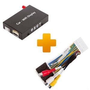 Адаптер дублирования экрана Smartphone iPhone и кабель подключения для мониторов Toyota Touch 2 Entune