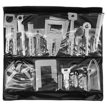 Набор инструментов для снятия штатных и нештатных автомагнитол сталь, 38 предметов  - Краткое описание