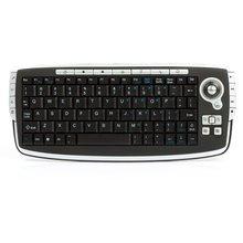 Беспроводная мини клавиатура с трекболом 2,4 ГГц  - Краткое описание