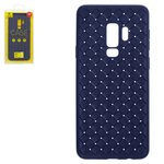 Case Baseus compatible with Samsung G965 Galaxy S9 Plus, (dark blue, braided, plastic) #WISAS9P-BV15