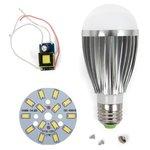 Juego de piezas para armar lámpara LED regulable SQ-Q03 5730 7 W (luz blanca fría, E27)