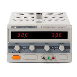 Регулируемый блок питания Masteram MR3010E
