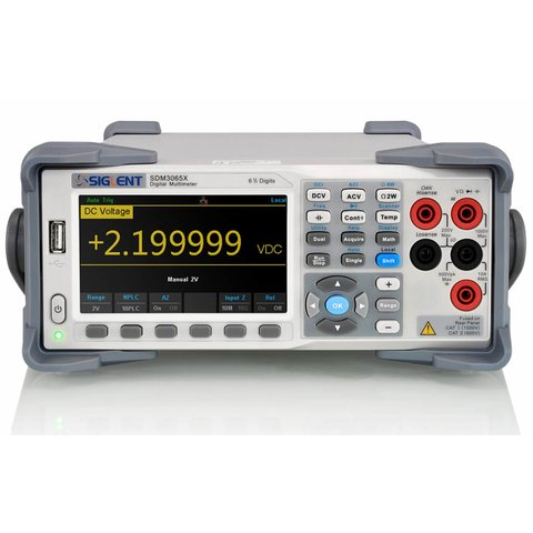 Digital Multimeter SIGLENT SDM3065X