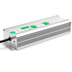 Fuente de alimentación para tiras LED de 12 V, 12.5 A (300 W), 90-250 V, IP67